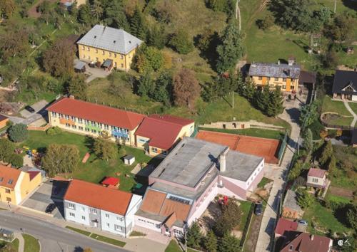 Letecké pohledy na obec